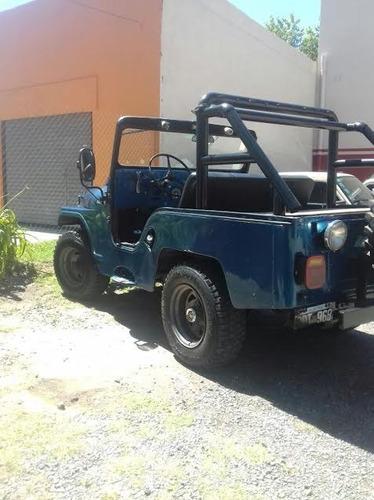 jeep ika 4x4 motor original caja de alta y baja modelo 1970