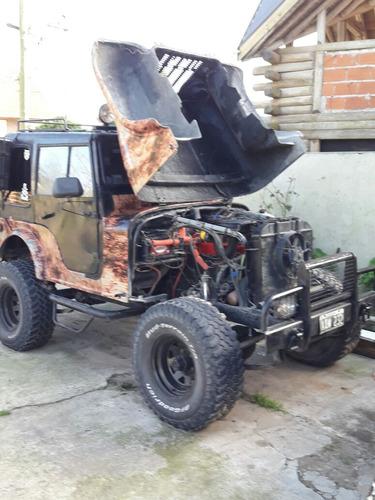 jeep ika 4x4 vendo/permuto  (no willys no estanciera no 4x2)