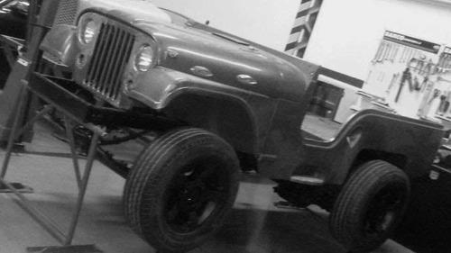jeep ika corto 4x4 1967