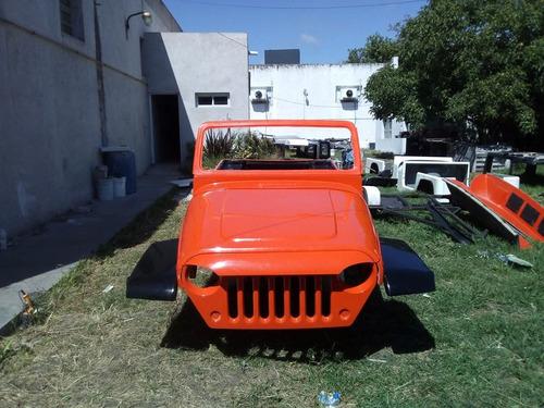 jeep ika estanciera solo carroceria wrangler