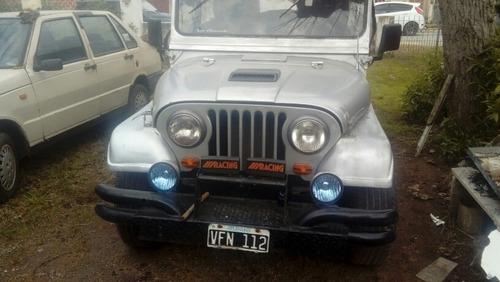 jeep ika largo con capota titular