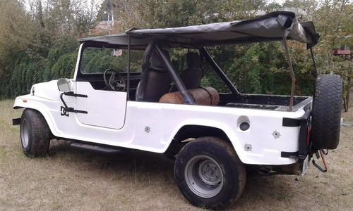 jeep ika largo gnc carroceria lodi de fibra