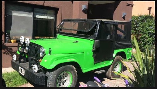 jeep  ika original. modelo 1961