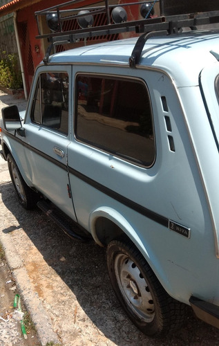 jeep lada niva - 4x4 - tudo funcionando