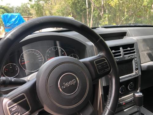 jeep liberty 2013 todo pagado, asientos de piel, 4x2