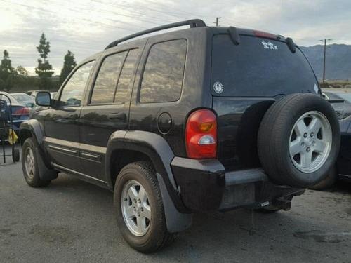 jeep liberty limited motor 3.7  02-07 yonkeada para partes
