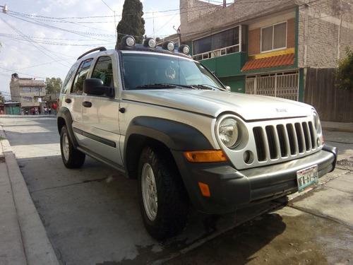 jeep liberty sport 4x4 at 2007 todo pagado para carretera