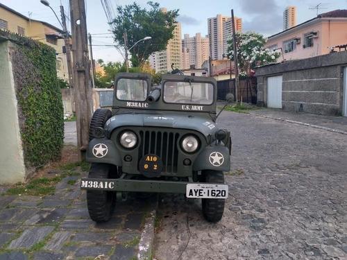 jeep m38a1c - canhoneiro