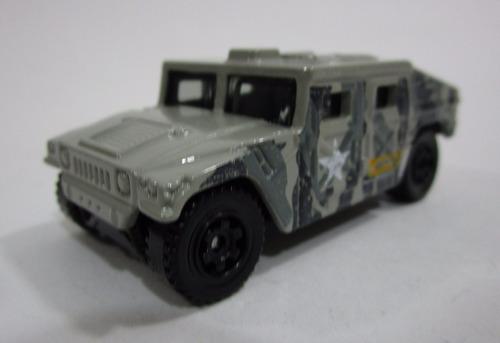 jeep militar humvee escala miniatura 7cm coleccion matchbox