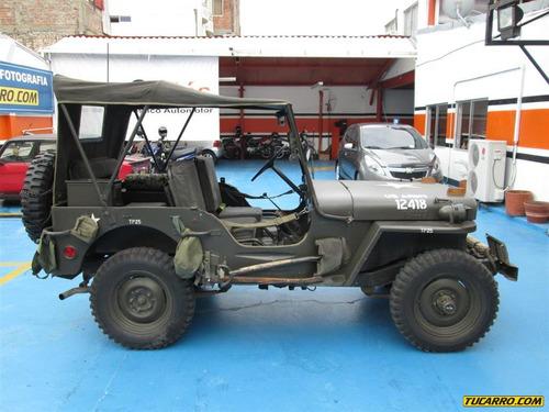 jeep otros modelos willys