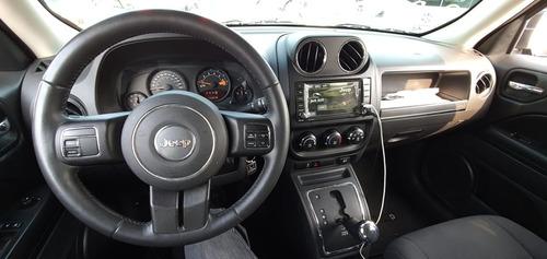 jeep patriot latitude, mod. 2016, color gris, ¡preciosa!