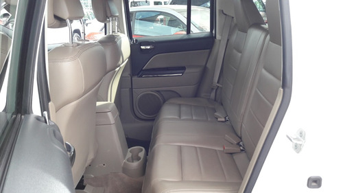 jeep patriot limited 4x2 blanca 2013 excelentes condiciones