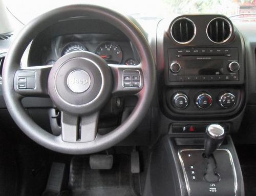 jeep patriot sport 2012 autom. y electrica factura original.