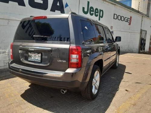 jeep patriot suv  5p limited cvt ve6 cd piel qc gps