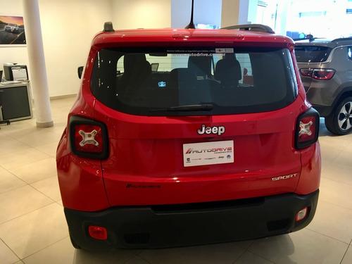jeep renegade 100% financiado con entrega pactada en cuota 4