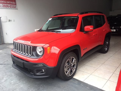 jeep renegade 1.8 16v flex limited 4p automático