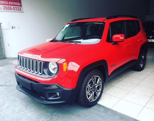 jeep renegade 1.8 16v flex longitude 4p automático 2019/2020