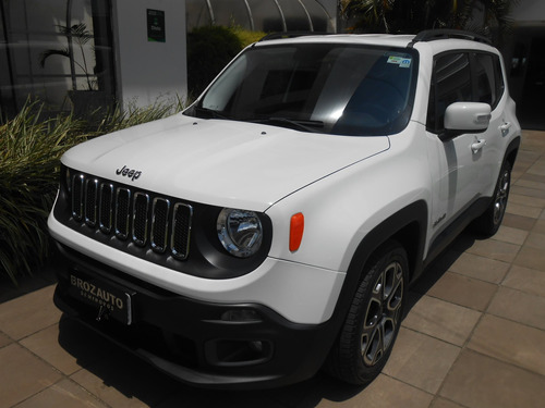 jeep renegade 1.8 16v flex longitude 4p automático