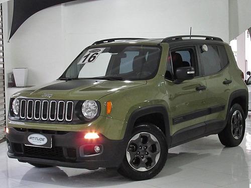 jeep renegade 1.8 16v flex sport 4p manual 2016