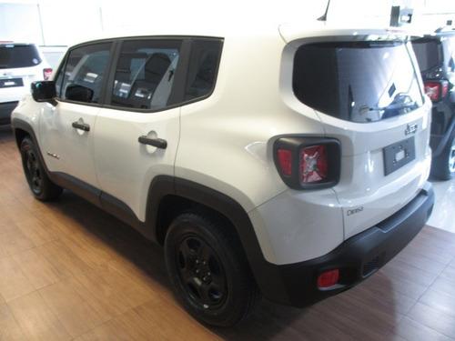 jeep renegade 1.8 custom flex 5p completo 0km2018