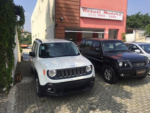 jeep renegade 1.8 flex aut. okm a pronta entrega