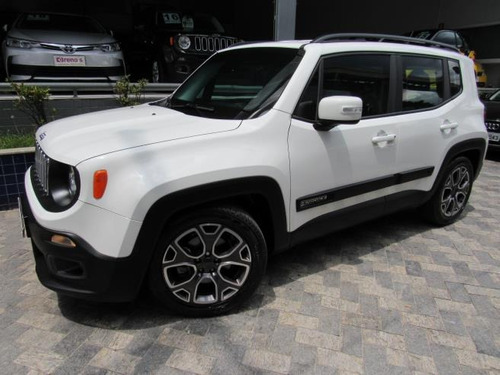 jeep renegade 1.8 flex longitude automático (blindada) 2016