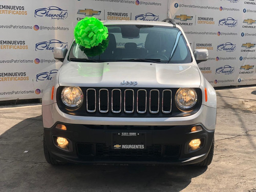 jeep renegade  1.8 latitud 4x2 ta