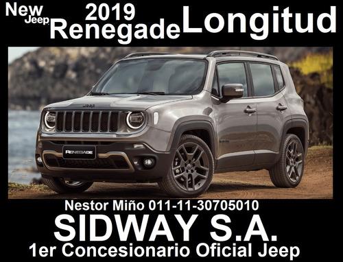 jeep renegade 1.8 longitude at6 2019 oferta hot sale #13