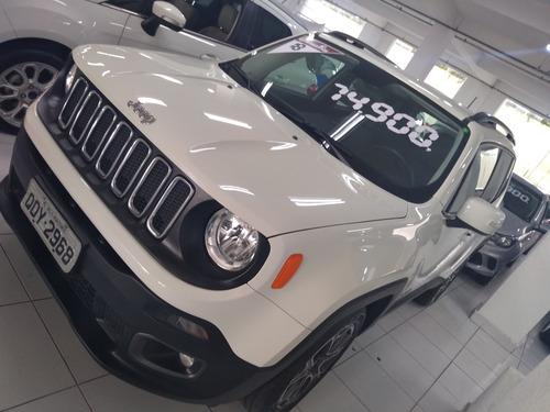 jeep renegade 1.8 longitude flex 5p automatico