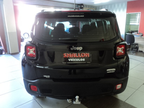 jeep renegade 1.8 longitude flex aut. 5p 2015/2016 preto