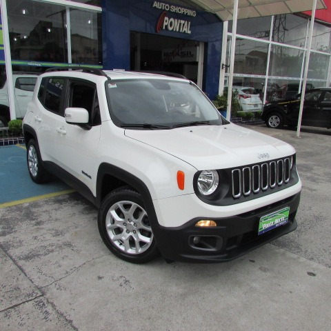 jeep renegade 1.8 longitude flex aut. 5p 2016 branco