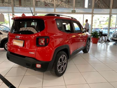 jeep renegade 1.8 longitude flex aut. 5p - 2016 - vermelho
