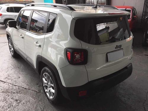 jeep renegade 1.8 longitude flex aut. 5p 2017 branco 24000km