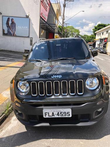 jeep renegade 1.8 longitude flex aut. 5p 2018