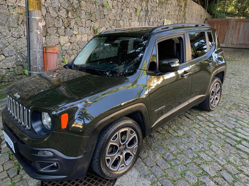 jeep renegade 1.8 longitude flex aut. 5p 2018