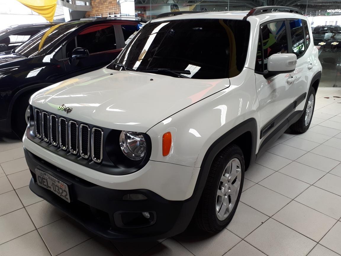 Jeep Renegade 1 8 Longitude Flex Aut 5p Branco R 75 990 Em