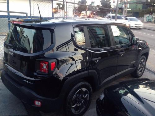 jeep renegade 1.8 mec flex 17/17 0km rosati motors p. entreg