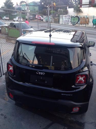 jeep renegade 1.8 mec flex 18/18 0km rosati motors p. entreg