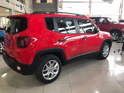 jeep renegade 1.8 sport, 0km, 2018, contado, cuotas