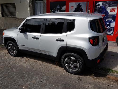 jeep renegade 1.8 sport 13500 km unica mano modelo 2017