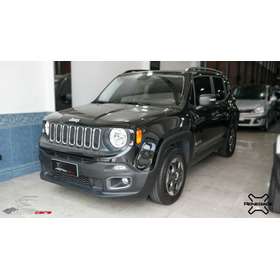 Jeep Renegade 1.8 Sport 2016 9mil Km Negro