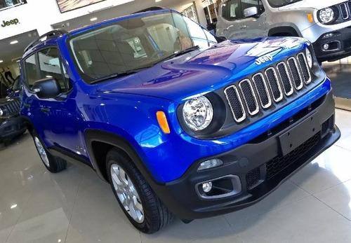 jeep renegade 1.8 sport - anticipo $251.000 con tasa 0%