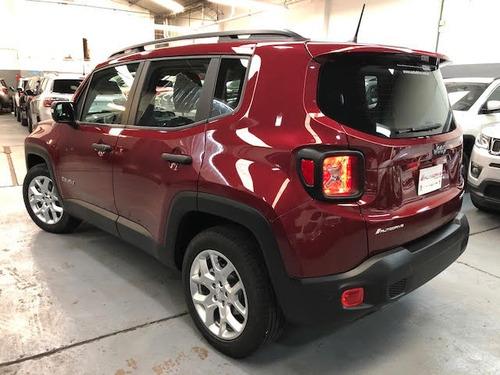 jeep renegade 1.8 sport anticipo y cuotas.
