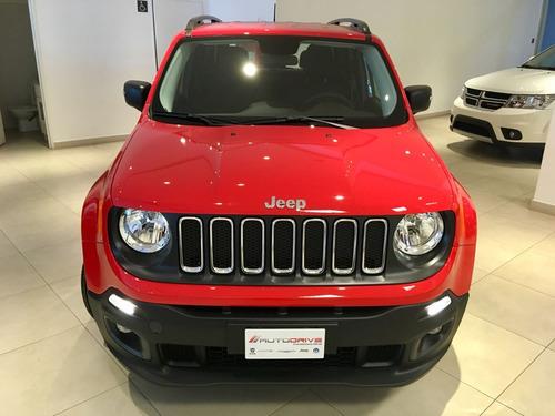 jeep renegade 1.8 sport at financiada