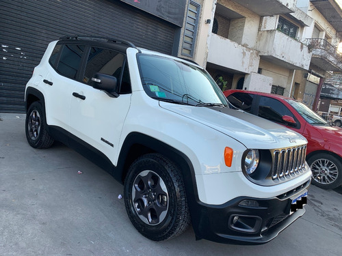jeep renegade 1.8 sport at plus blanca , la mejor!!
