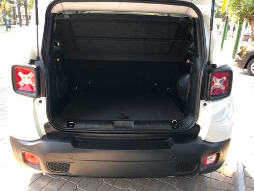 jeep renegade 1.8 sport at plus blanco 0 km