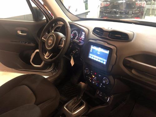jeep renegade 1.8 sport at6 minimo anticipo de retiro