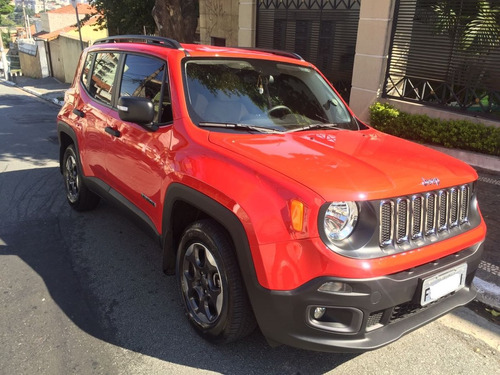 jeep renegade 1.8 sport flex 5p unico dono praticamente zero