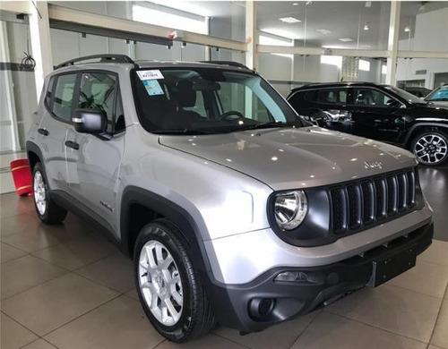 jeep renegade 1.8 sport flex automático 2020 0km