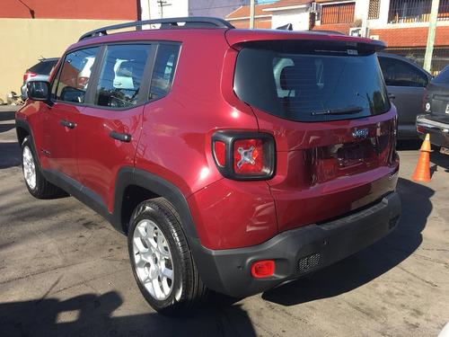 jeep renegade 1.8 sport manual, 0 km, anticipo y cuotas